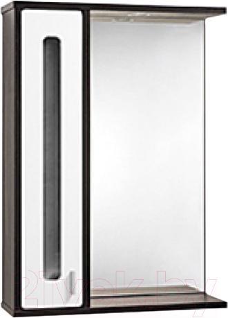 Купить Шкаф с зеркалом для ванной Акваль, Бали 60 / БАЛИ.04.60.02.L, Беларусь