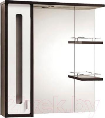 Шкаф с зеркалом для ванной Акваль Бали 75 / БАЛИ.04.75.02.L