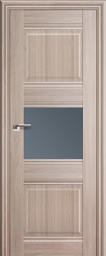 Купить Дверь межкомнатная ProfilDoors, 5Х 60x200 (орех пекан/стекло графит), Россия