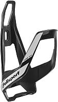 Держатель для фляги велосипедный Polisport 8645900002 (черный/белый) -
