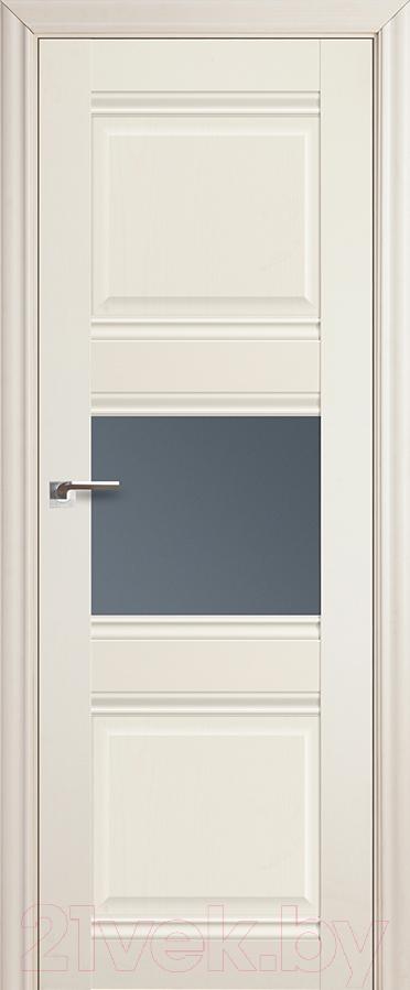 Купить Дверь межкомнатная ProfilDoors, 5Х 60x200 (эшвайт/стекло графит), Россия