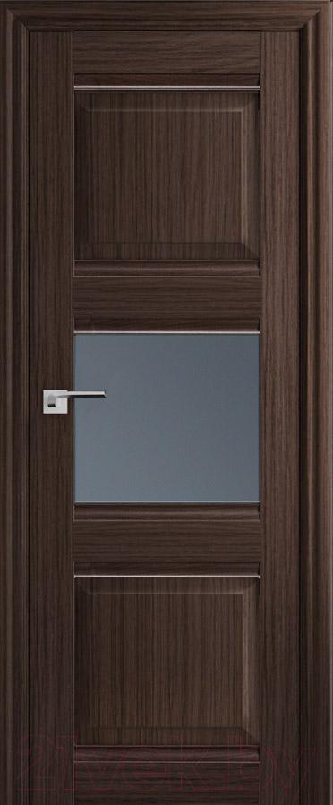 Купить Дверь межкомнатная ProfilDoors, 5Х 60x200 (натвуд натинга/стекло графит), Россия
