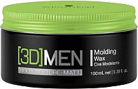 Воск для укладки волос Schwarzkopf Professional 3D Men Molding Wax (100мл) -