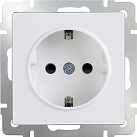 Розетка Werkel WL01-SKGS-01-IP44 / a028830 (белый) -