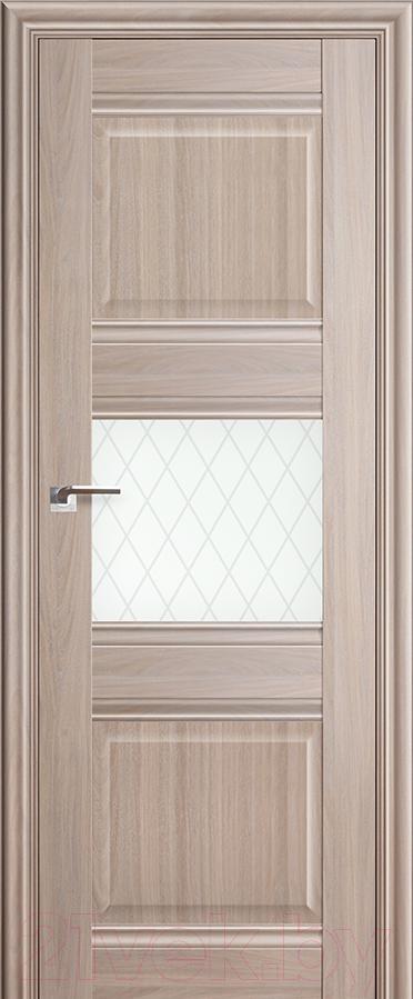 Купить Дверь межкомнатная ProfilDoors, 5Х 60x200 (орех пекан/стекло ромб), Россия