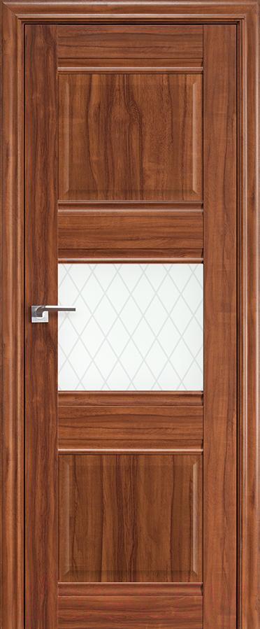 Купить Дверь межкомнатная ProfilDoors, 5Х 60x200 (орех амари/стекло ромб), Россия
