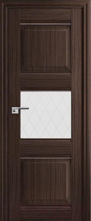 Купить Дверь межкомнатная ProfilDoors, 5Х 60x200 (натвуд натинга/стекло ромб), Россия
