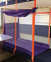 Манеж для поезда Manuni Трапеция VDD.М-004 (фиолетовый) -