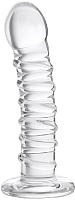 Фаллоимитатор Sexus Glass / 912179 (прозрачный) -