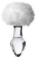 Пробка интимная Sexus Glass / 912227 (белый) -