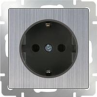Розетка Werkel WL02-SKG-01-IP20 / a034176 (глянцевый никель) -