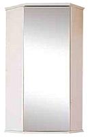 Шкаф с зеркалом для ванной Misty Лилия 34 / Э-Лил08034-011ЗрУг (подвесной) -