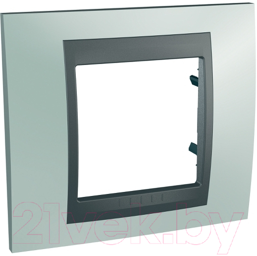 Купить Рамка для выключателя Schneider Electric, Unica MGU66.002.294, Россия, сплав поликарбоната и ASA-пластика, Unica Top (Schneider Electric)