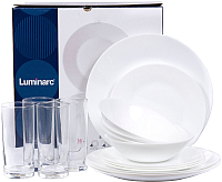 Набор столовой посуды Luminarc Essence White N4753 -
