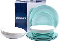 Набор тарелок Luminarc Diwali Color P5912 -