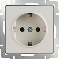 Розетка Werkel WL03-SKG-01-IP20 / a028892 (слоновая кость) -