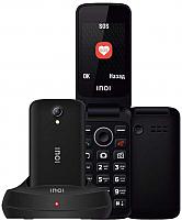 Мобильный телефон Inoi 247B с док-станцией (черный) -