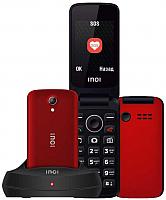 Мобильный телефон Inoi 247B с док-станцией (красный) -