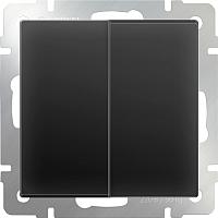 Выключатель Werkel WL08-SW-2G / a029873 (черный матовый) -