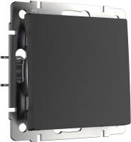 Кнопка звонка Werkel WL08-04-01 / a036909 (черный матовый) -