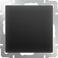Выключатель Werkel WL08-SW-1G-C / a033771 (черный матовый) -