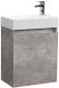 Тумба под умывальник Belux Темпо НП 50 (31, бетон чикаго/светло-серый) -