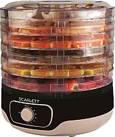 Сушка для овощей и фруктов Scarlett SC-FD421014 (черный) -
