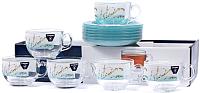 Набор для чая/кофе Luminarc Trompette Turquoise P6916 -