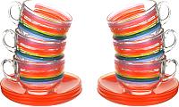 Набор для чая/кофе Luminarc Color Pencil P6882 -