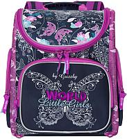 Школьный рюкзак Grizzly RA-971-9 (темно-синий) -