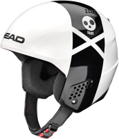 Шлем горнолыжный Head Stivot Rebels / 320227 (XXL, white/black) -