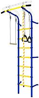 Детский спортивный комплекс Romana ДСКМ-2С-7.00.Г1.410.14-24 (синий/желтый) -