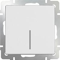 Выключатель Werkel WL01-SW-1G-LED / a030766 (белый) -
