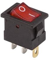 Выключатель клавишный Rexant ON-OFF Mini 36-2170 (красный) -