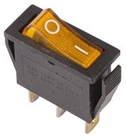Выключатель клавишный Rexant ON-OFF 36-2212 (желтый) -