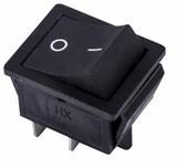 Выключатель клавишный Rexant ON-OFF 36-2380 (черный Б-Фикс) -