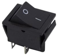Выключатель клавишный Rexant ON-OFF 36-2310 (черный) -