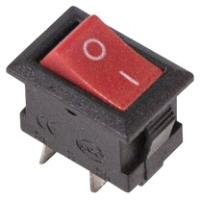 Выключатель клавишный Rexant ON-OFF Micro 36-2011 (красный) -