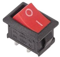 Выключатель клавишный Rexant ON-OFF Mini 36-2111 (красный) -