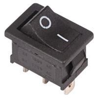 Выключатель клавишный Rexant ON-ON Mini 36-2140 (черный Б-Фикс) -