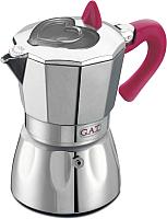 Гейзерная кофеварка G.A.T. Valentina 104906N (розовый) -