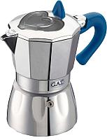 Гейзерная кофеварка G.A.T. Valentina 104903N (синий) -