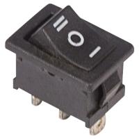 Выключатель клавишный Rexant ON-OFF-ON Mini 36-2145 (черный) -