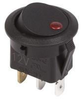 Выключатель клавишный Rexant ON-OFF 36-2580 (красный) -