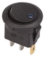 Выключатель клавишный Rexant ON-OFF 36-2581 (синий) -
