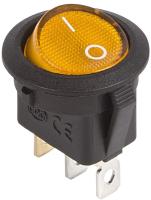 Выключатель клавишный Rexant ON-OFF 36-2587 (желтый) -