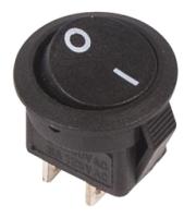 Выключатель клавишный Rexant ON-OFF Micro 36-2510 (черный) -