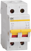 Выключатель нагрузки IEK ВН-32 2Р 100А / MNV10-2-100 (мини-рубильник) -