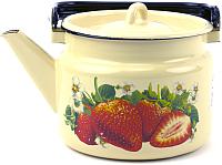 Чайник Лысьвенские эмали Сочная клубника С-2710/4КмЭ -