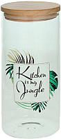 Емкость для хранения Tognana Dolce Casa Jungle (21.5см) -